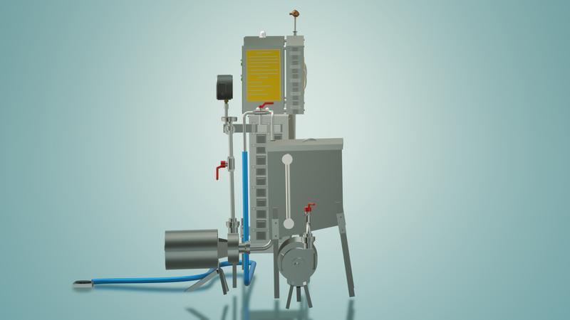 Пастеризатор молока под сепаратор и сыр 1 т/ч УЗМ-1,0 - Фото 7