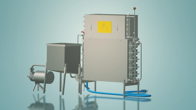 Пастеризатор молока под сепаратор и сыр 1 т/ч УЗМ-1,0 - Фото 8