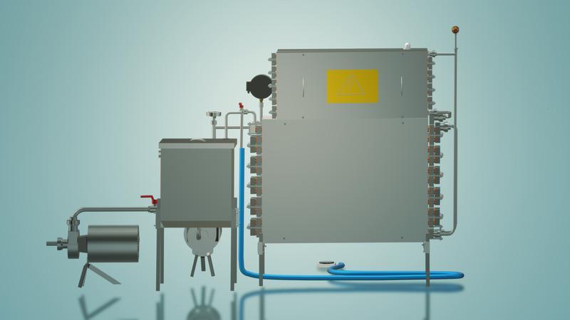 Пастеризатор молока под сепаратор и сыр 1 т/ч УЗМ-1,0 - Фото 5