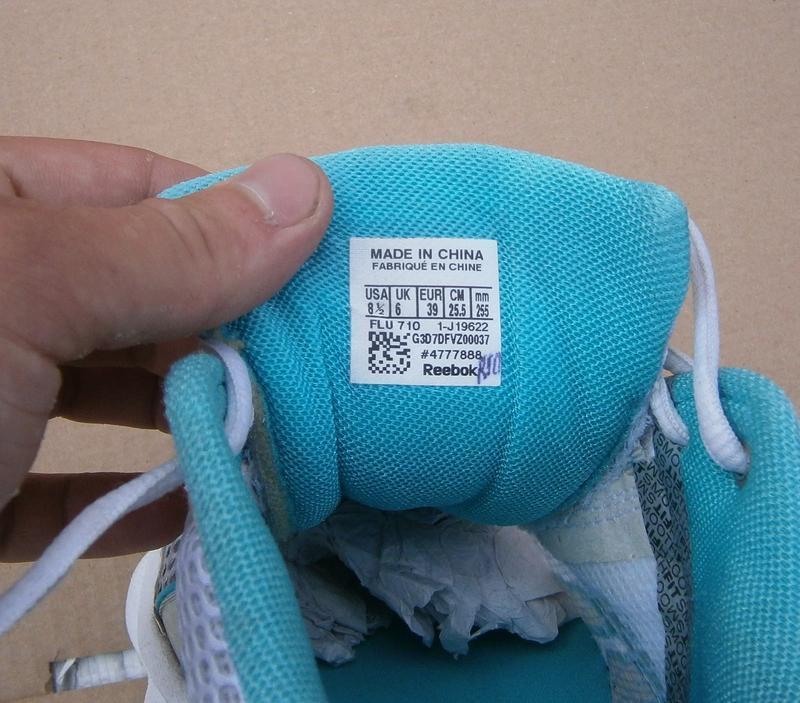 Кросівки reebok runtone medium width оригінал р. 39 см 25.5 - Фото 3