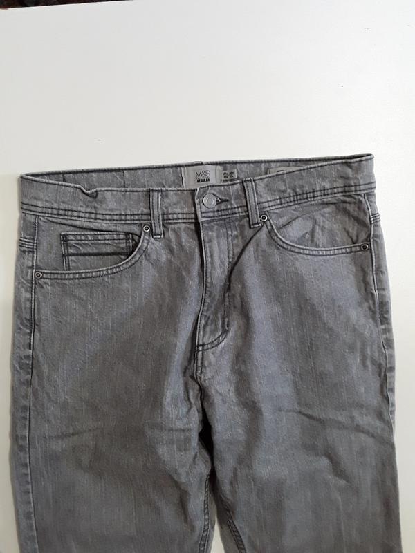 Фирменные джинсы 32р. - Фото 5