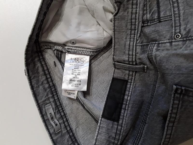 Фирменные джинсы 32р. - Фото 6