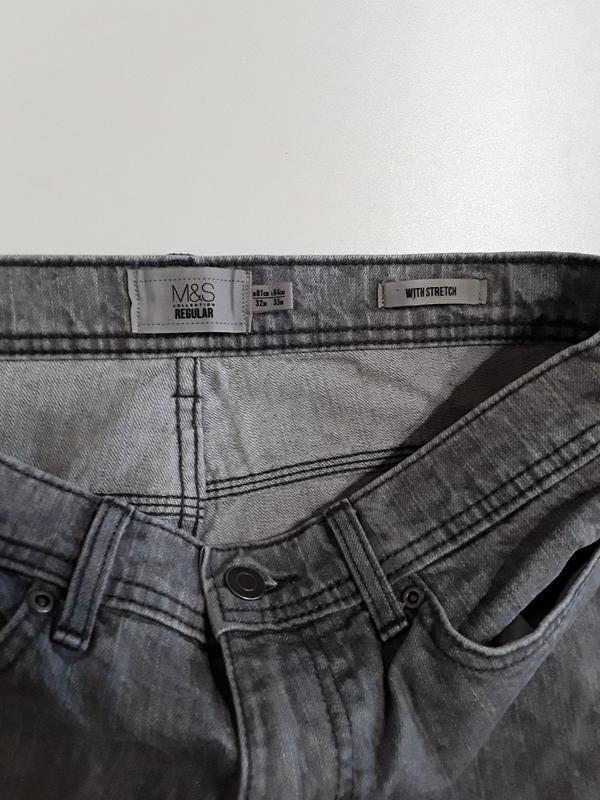 Фирменные джинсы 32р. - Фото 7