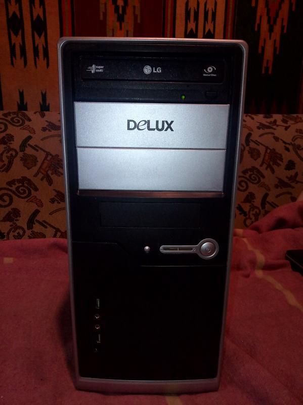 Системный блок 4-ре ядра Q6600 4x2.4GHz 4Gb 250Gb HDD DVD-RW