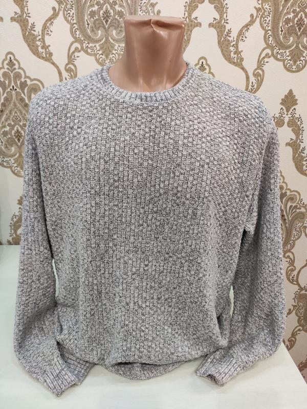 Primark мужской серый свитер, коттон