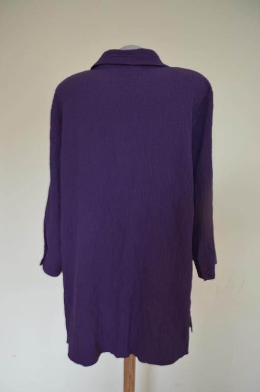 Очень красивая брендовая блузочка жатка большого размера длинн... - Фото 5