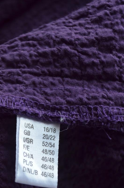 Очень красивая брендовая блузочка жатка большого размера длинн... - Фото 8