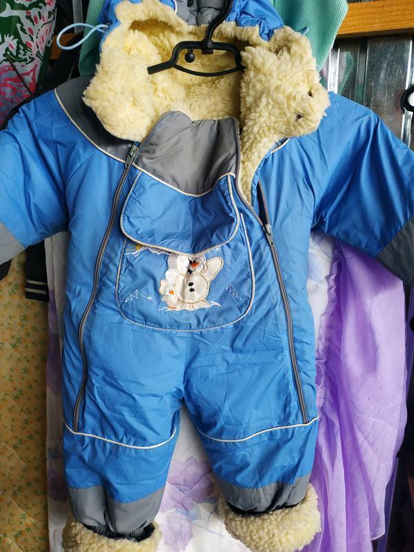 Комбінезон зимній для хлопчика 98 см