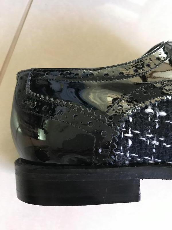 Туфли лоферы кожаные стильный модный дорогой бренд cosmoparis ... - Фото 6