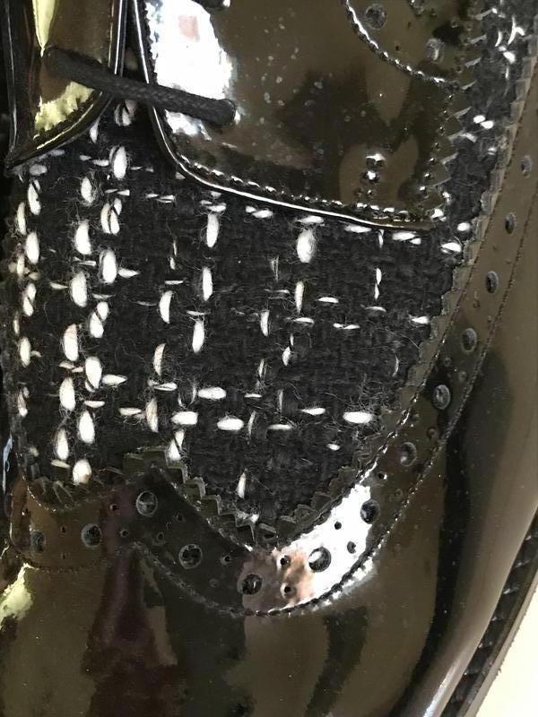 Туфли лоферы кожаные стильный модный дорогой бренд cosmoparis ... - Фото 9