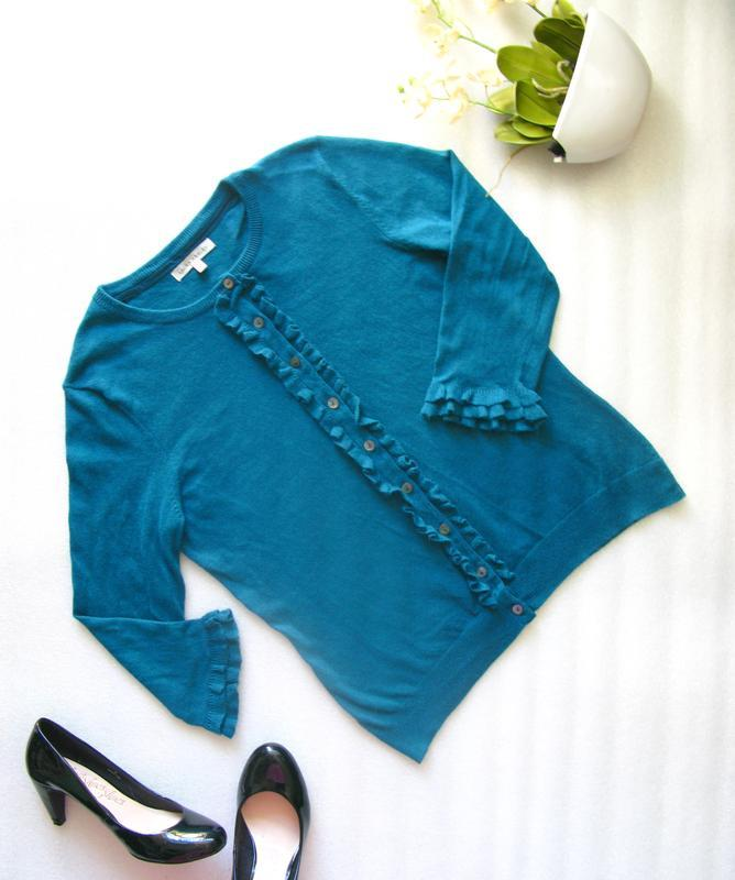 Стильный кардиган кофта джемпер свитер с кашемиром, ангорой на...
