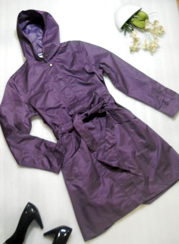Стильный непромокаемый дождевик куртка плащ на весну/осень раз... - Фото 2