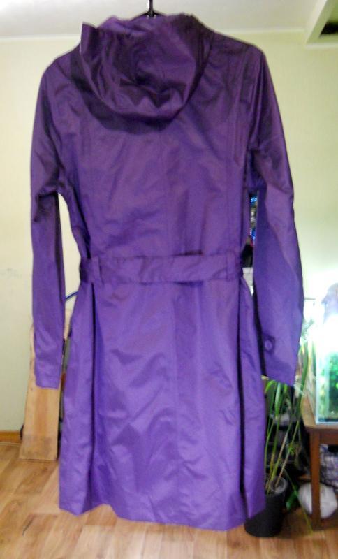 Стильный непромокаемый дождевик куртка плащ на весну/осень раз... - Фото 3