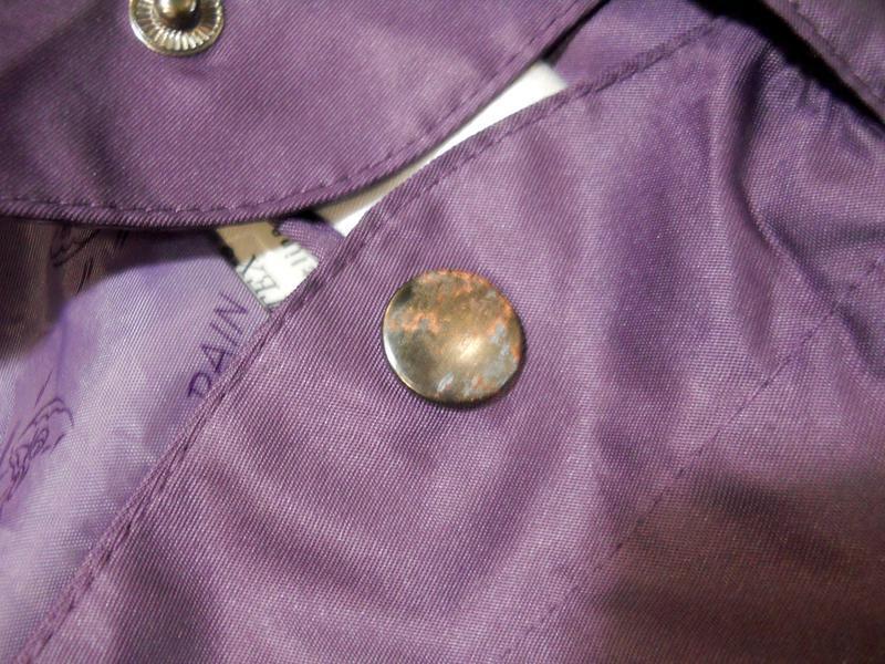 Стильный непромокаемый дождевик куртка плащ на весну/осень раз... - Фото 5