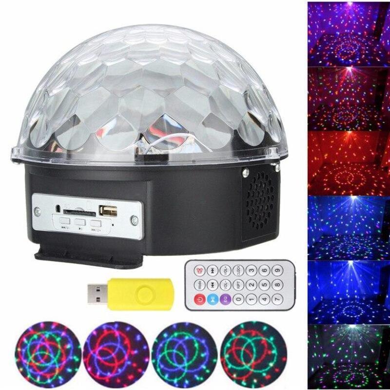 Музыкальный диско-шар с Bluetooth, USB, светомузыкой, 2-я динамик - Фото 6