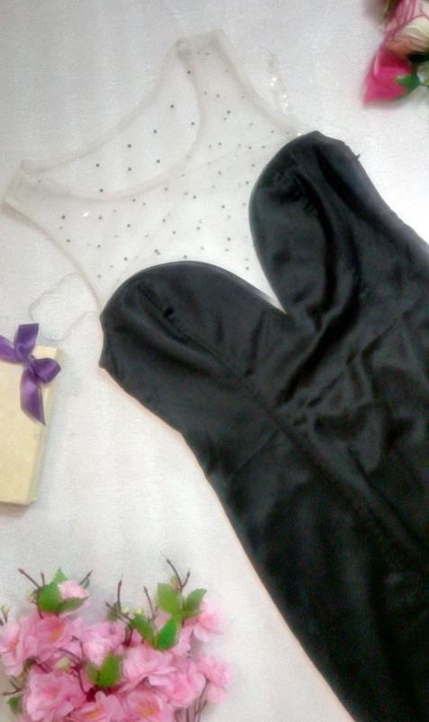 Крутое черное сексуальное коктейльное нарядное платье сукня ми... - Фото 6