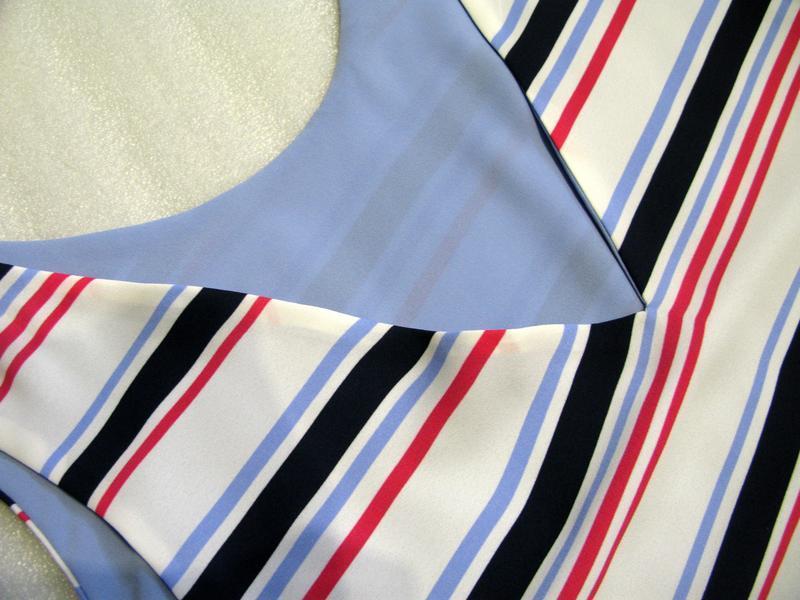 Классный топ майка футболка блуза полосатый от next uk22/eur50 - Фото 3
