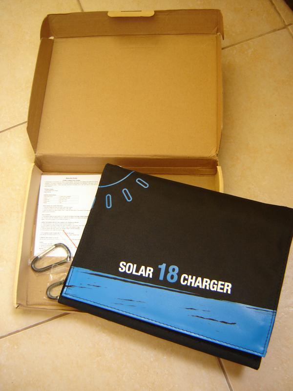 Солнечная батарея, зарядка,панель XIONEL SOLAR 18ватт