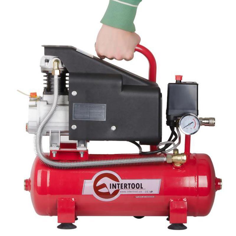 Компрессор 9 л, 0.75 кВт, 220 В, 8 атм, 160 л/мин