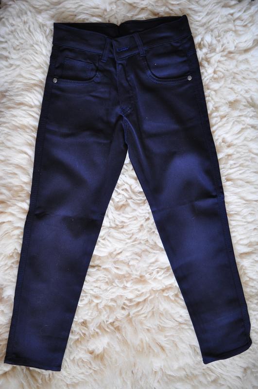 Фирменные джинсы, 95% котон, лето, aldino, синий, от 8 до 12 л...