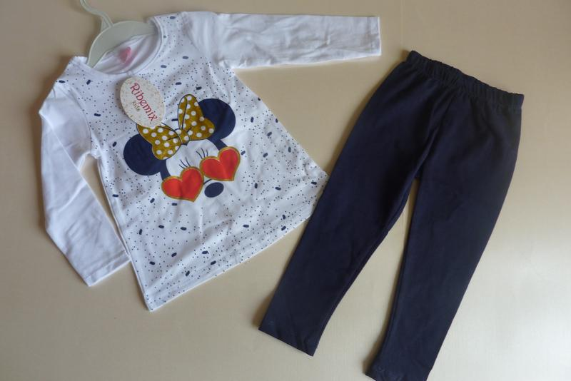 Турция, костюм для девочки, реглан и лосины, 2-3, 4, 5 и 6 лет...