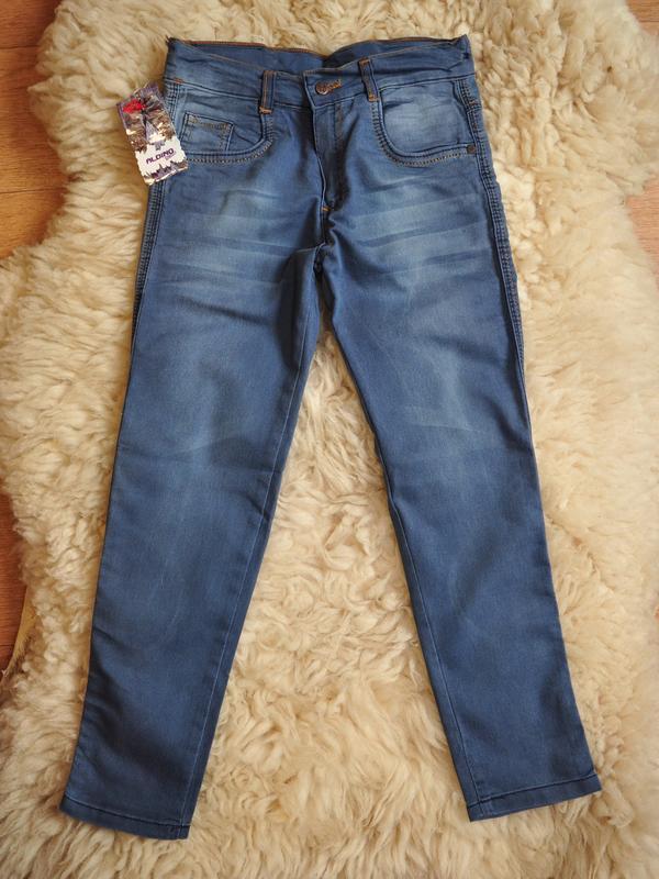 Легкие тонкие джинсы брюки, турция, от 6-7 до 12 лет
