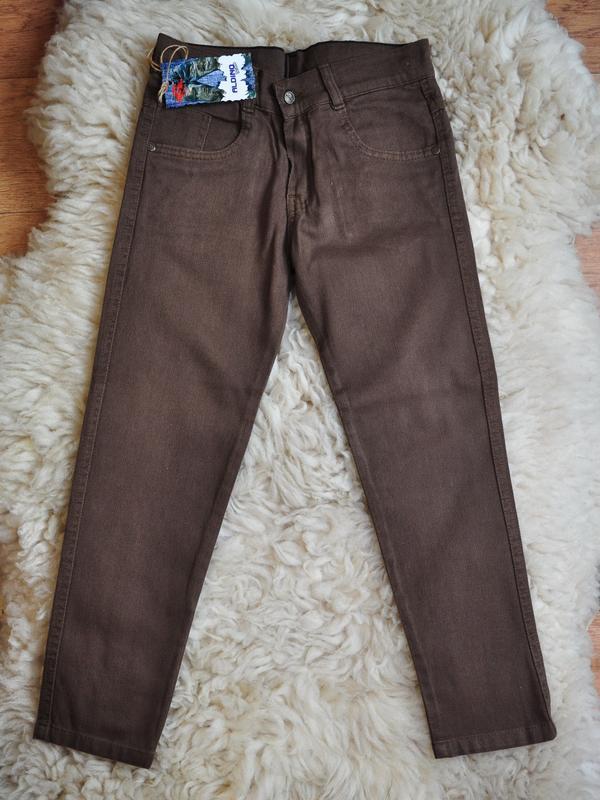 Фирменные легкие летние джинсы, модные, турция, от 6-7 до 12 лет