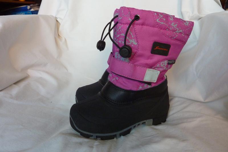 Sneakers зимние сноубутсы с валенком 29р-18,5см, теплые, не пр...