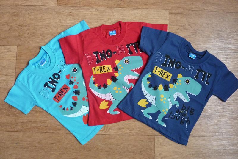 Яркие футболки для мальчика, турция, от 1-2 года до 4-5 лет, 3...
