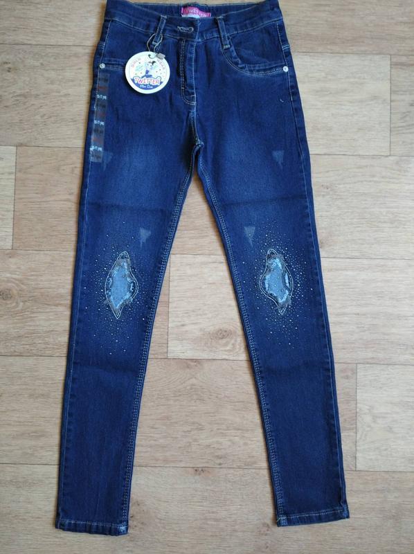 Крутые джинсы для девочки от 8-9 до 13 лет, турция