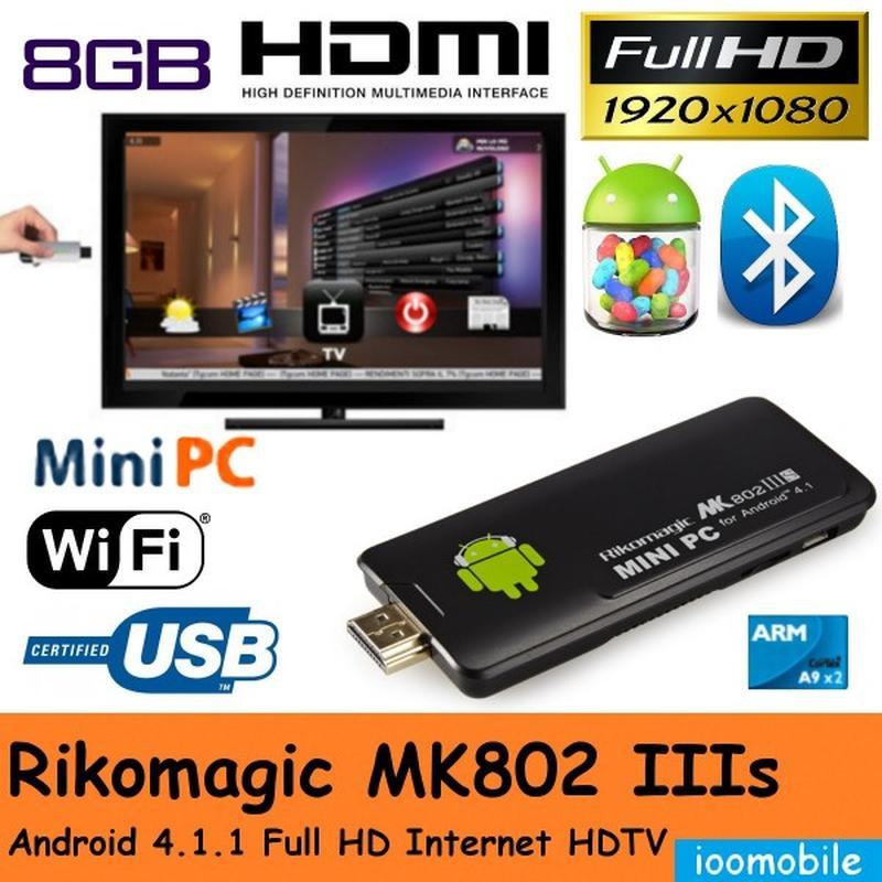 TV IPTV Box Rikomagic MK802IIIS/1RAM|8GB