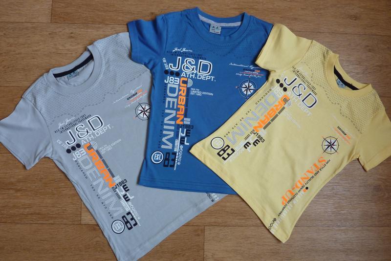 Яркие, модные футболки от 4-5 до 8-9 лет, турция, хит 2020