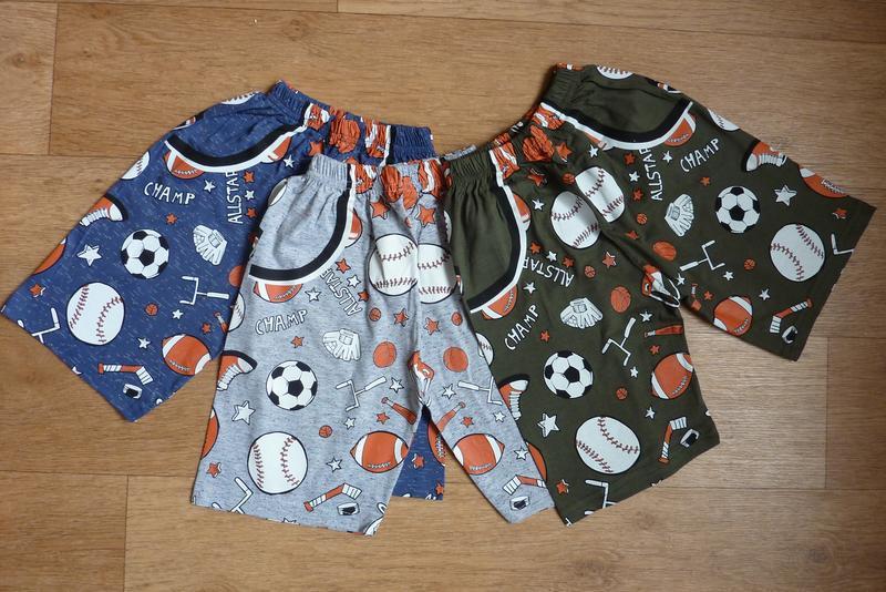 Яркие летние шорты, турция, от 5 до 10-11 лет