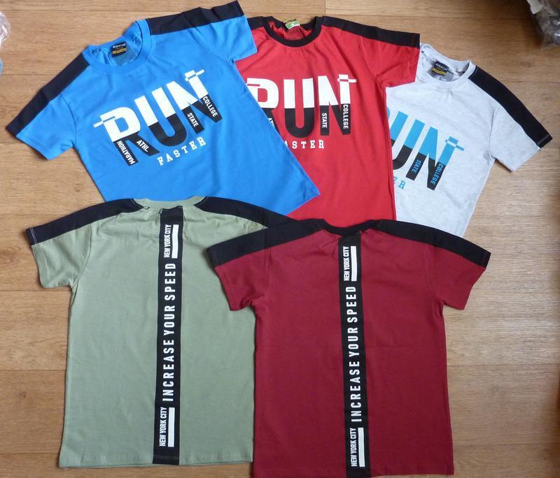 Очень модные футболки от 9-10 до 15-16  лет, турция, яркие, хит
