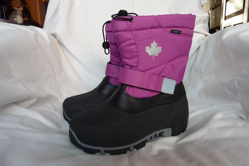 Canadian, зимние сноубутсы с валенком 37р-23см, теплые, не про...