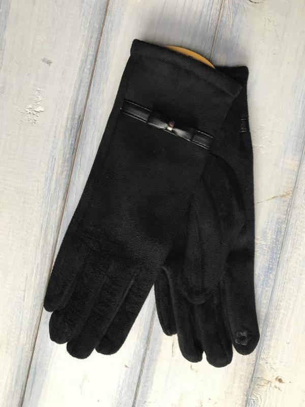 Перчатки сенсорные на плюше!  размеры разные