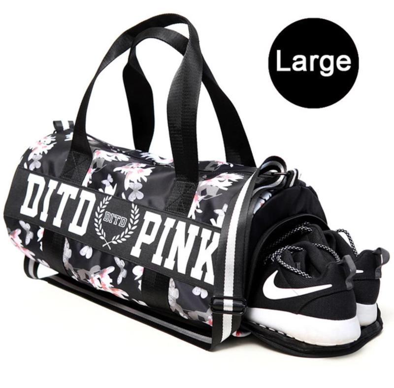Спортивная сумка victoria's secret dito pink