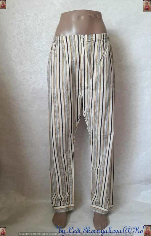 Новая со 100 % натурального хлопка пижама в мелкие полосочки, ... - Фото 4
