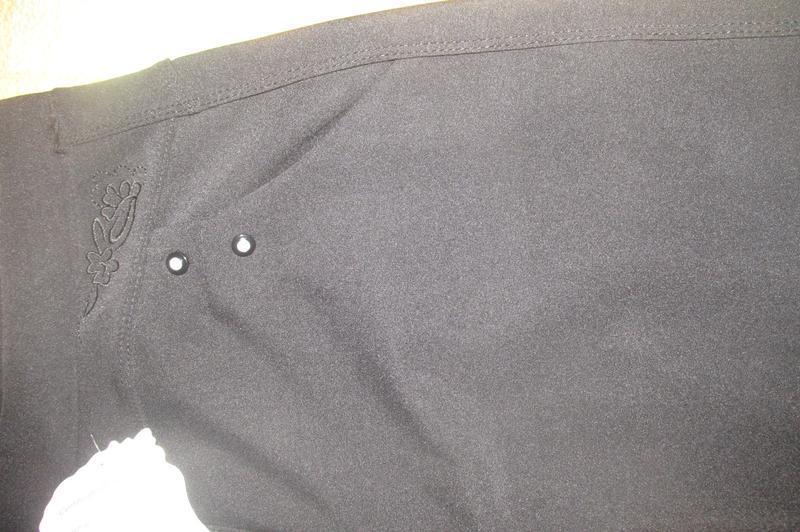 Брюки леггинсы с высоким поясом и карманами. - Фото 4