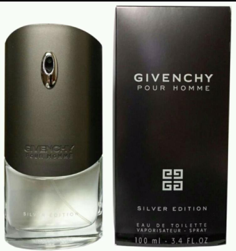 Мужская туалетная вода Givenchy Pour Homme Silver Edition,100 мл