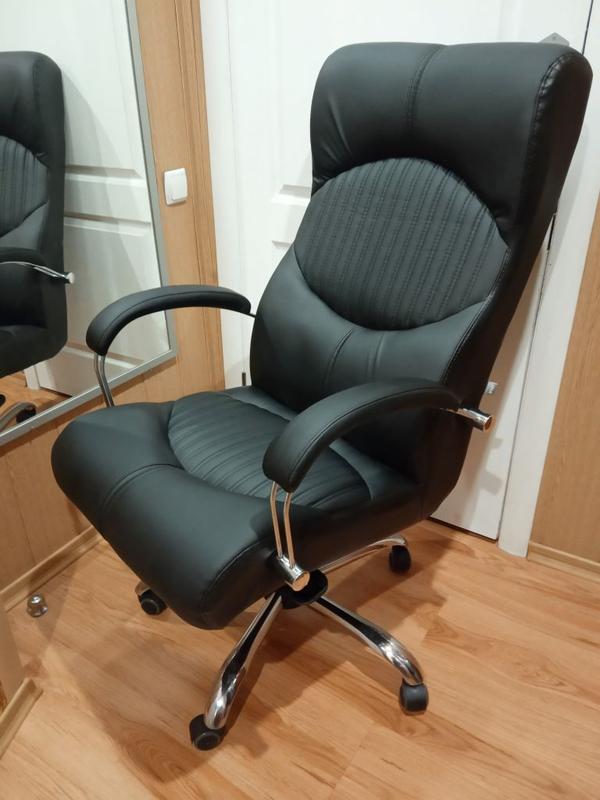 Кресло руководителя Геркулес MB Хром.