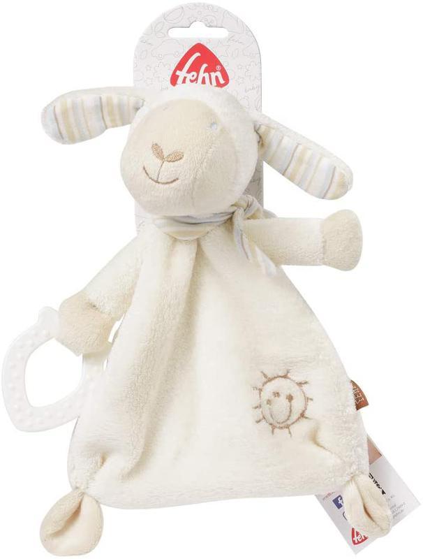 Мягкая игрушка в коляску или кроватку Fehn Барашек