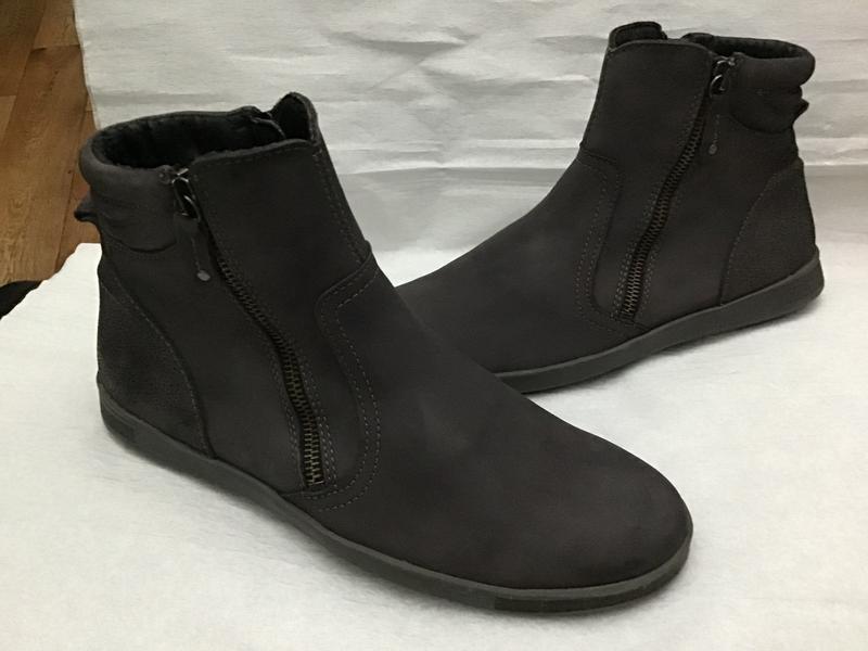 Ботинки сапожки кожа нубук natuform оригинал 39p