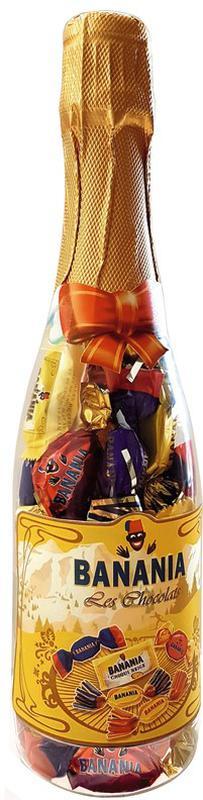 Бутылка шоколадных конфет Banania