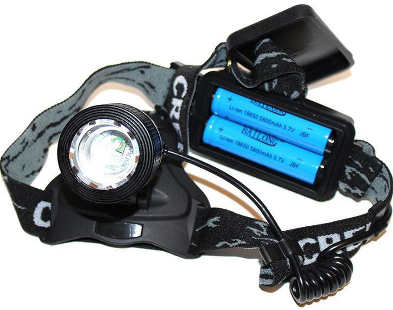 Налобный аккумуляторный фонарь Police Bailong BL-2199 (T6 диод)