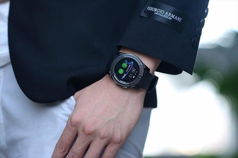 Сенсорные умные смарт часы Smart Watch V8