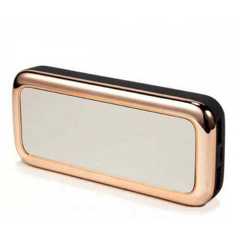 Портативная батарея Power Bank Gold Mirror 50000 mAh зеркало
