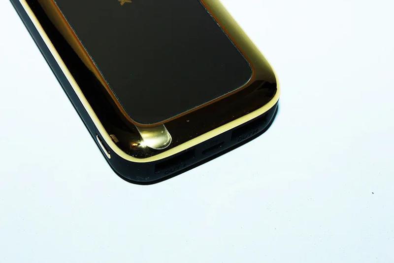 Портативная батарея Power Bank Gold Mirror 50000 mAh зеркало - Фото 2