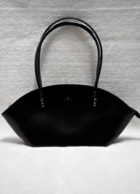 Кожаная изысканная сумка daniela moda vera pelle