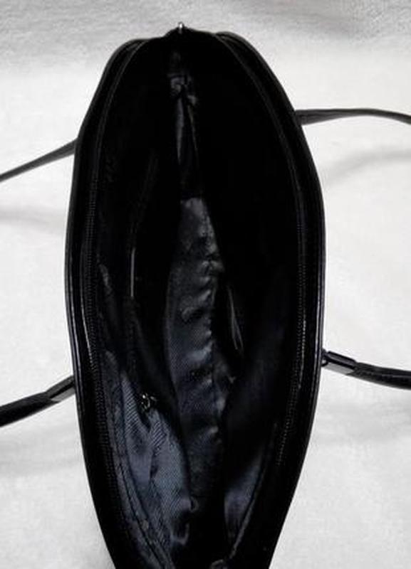 Кожаная изысканная сумка daniela moda vera pelle - Фото 4